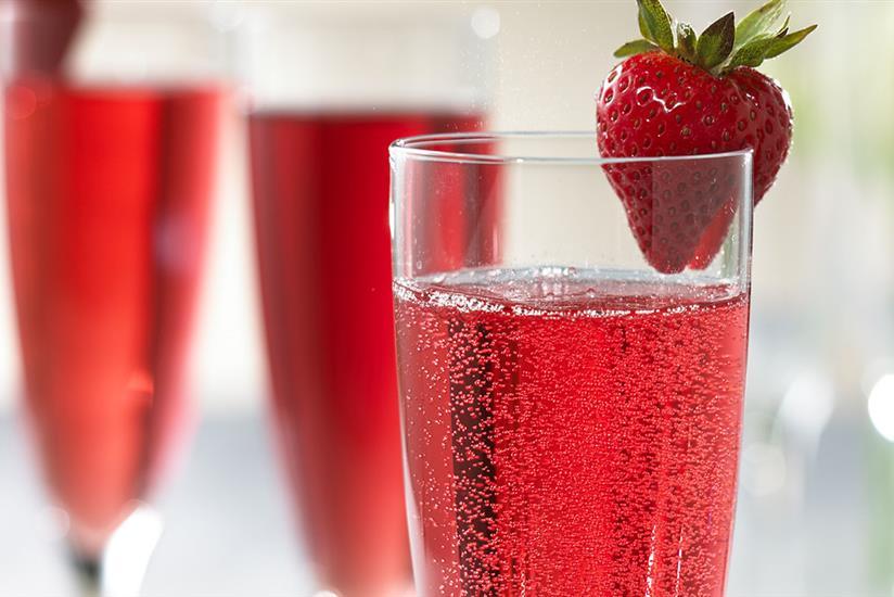 Cranberry Mimosas recipe | Ocean Spray®