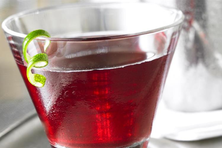 Cranberry Pomegranate Cosmopolitan