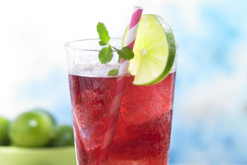 Diet Grape Lime Rickey