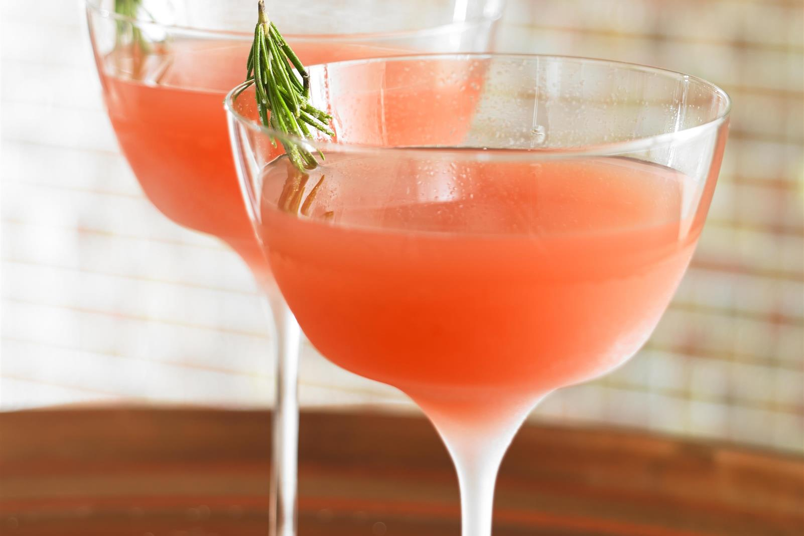 Elderflower Grapefruit Martini