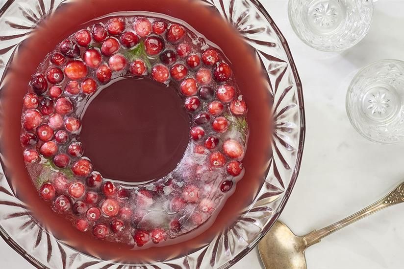 Festive Cranberry Punch