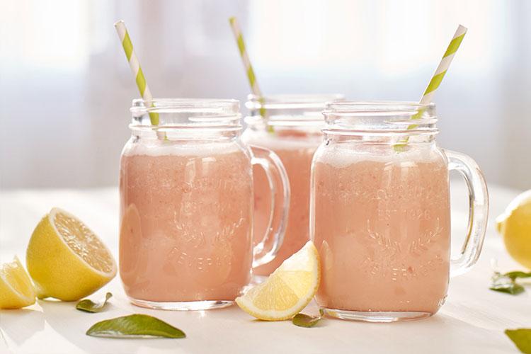 Frosty Pink Lemonade