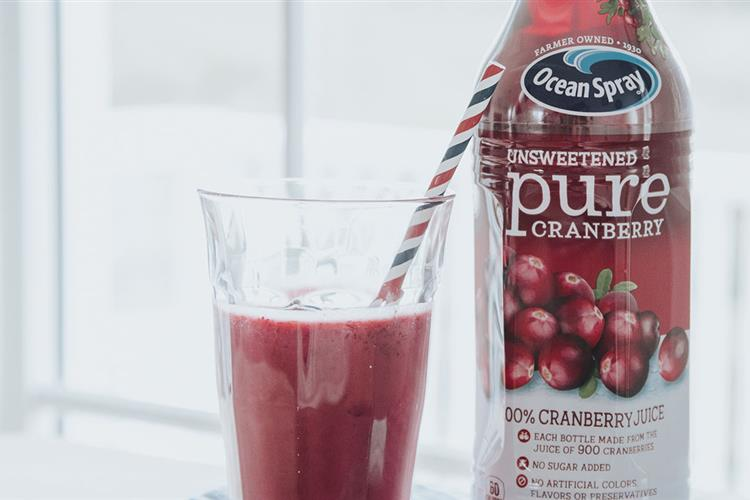Pure Cranberry Smoothie