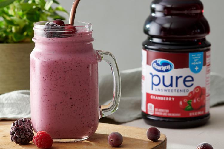 Pure Cranberry Smoothie