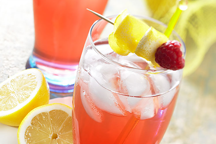 Raspberry Cranberry Lemon Berry Squeeze