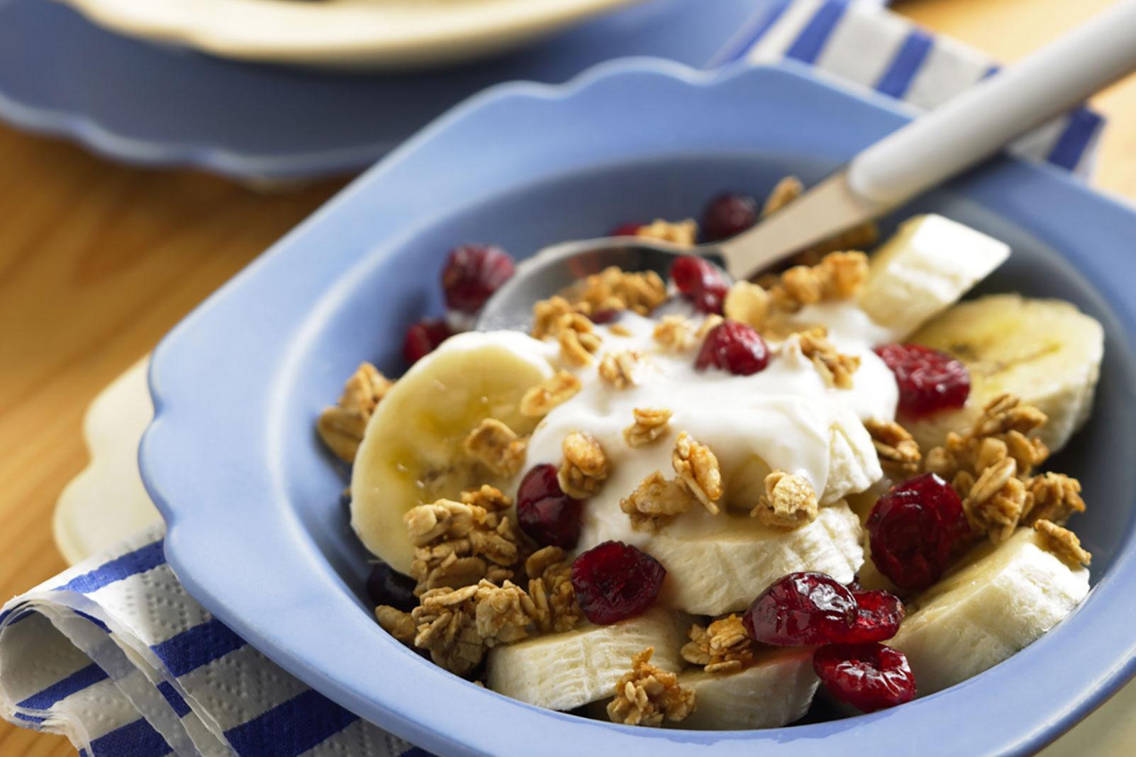 Craisins® Dried Cranberries Crunch Breakfast Bowl