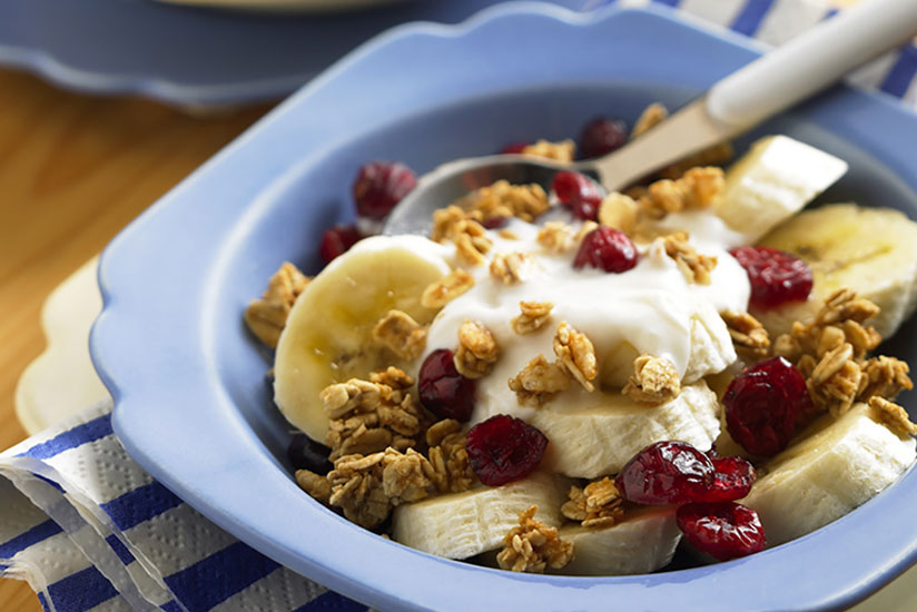Craisins® Dried Cranberries Crunch Breakfast Bowl