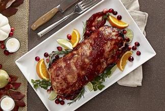 Holiday Glazed Pork Roast