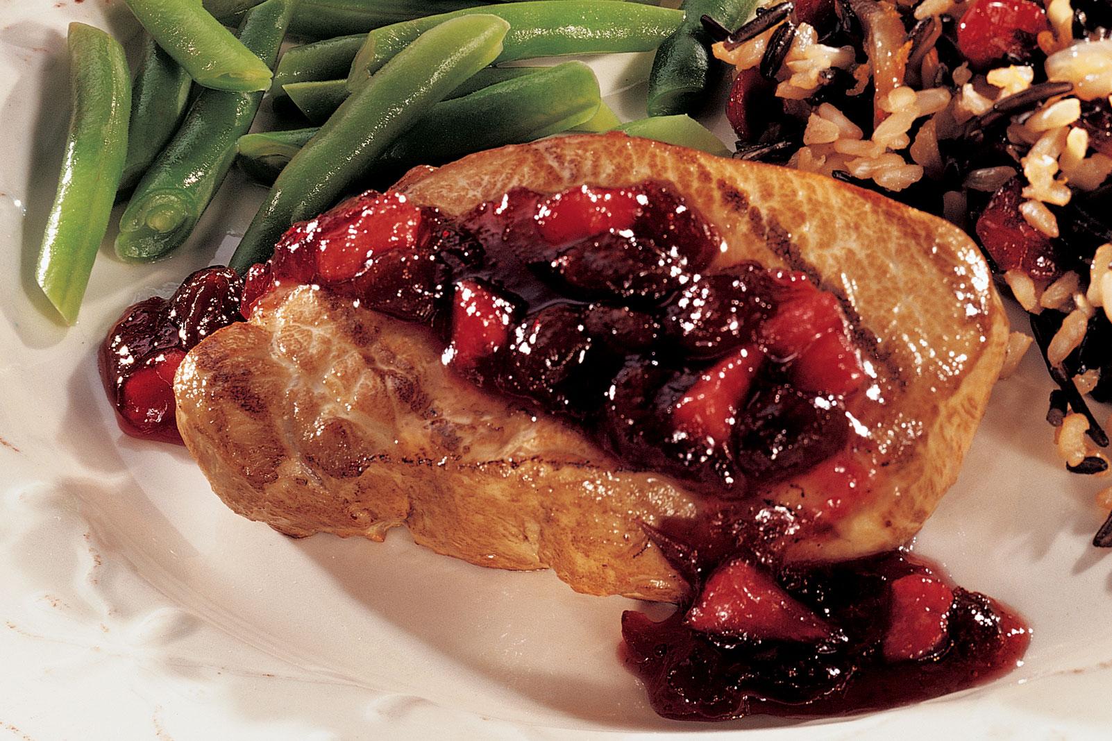 Spicy Cranberry Pork