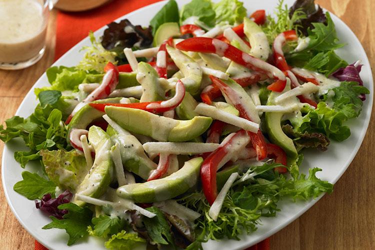Avocado Salad with Grapefruit-Cumin Dressing