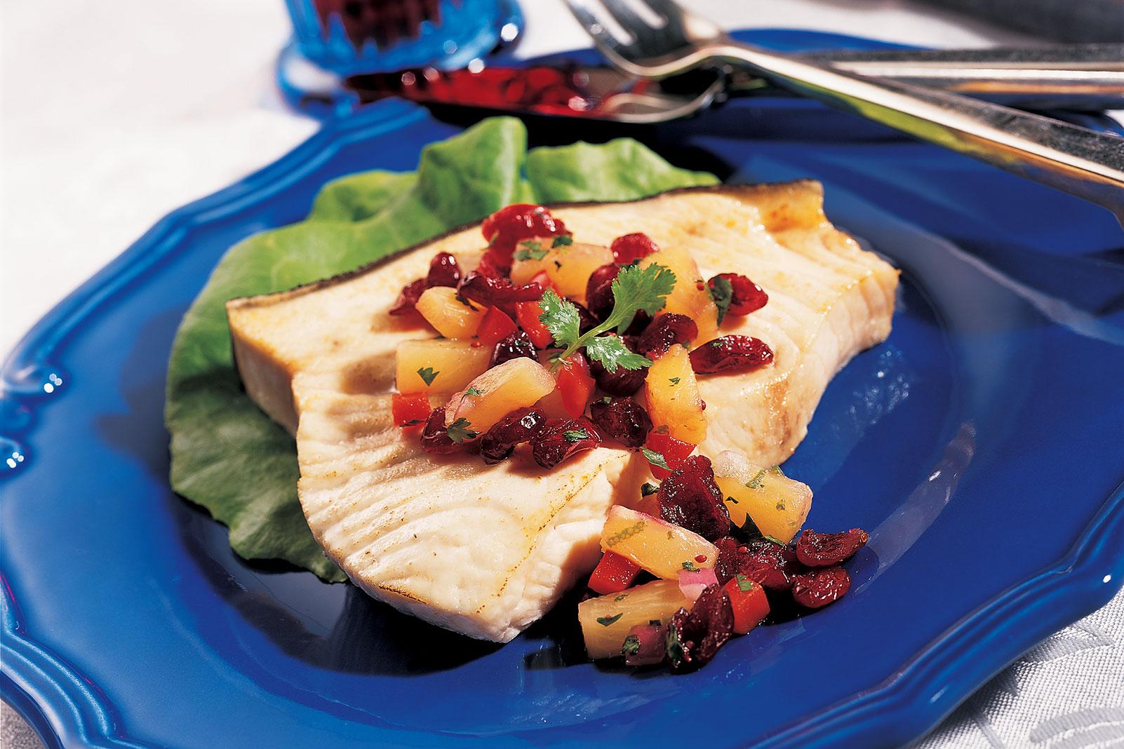 Cranberry Pineapple Cilantro Salsa