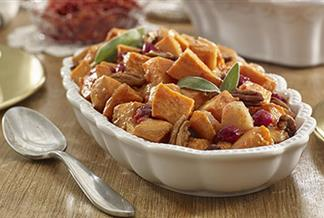 Cranberry Sweet Potato Bake