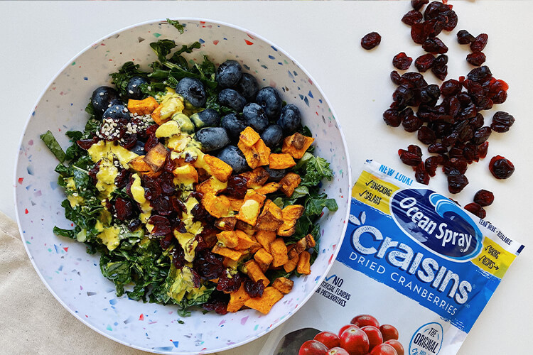 Fall Craisins Dried Cranberries Salad