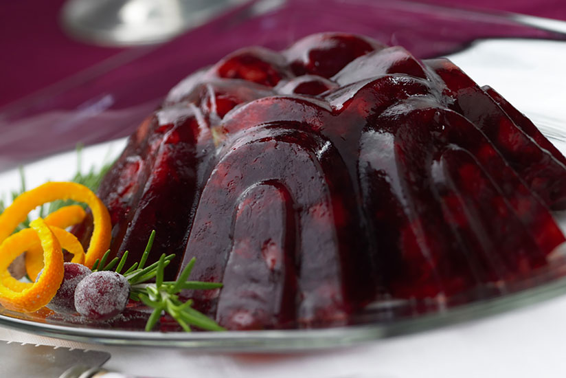Molded Cranberry Fruit Salad