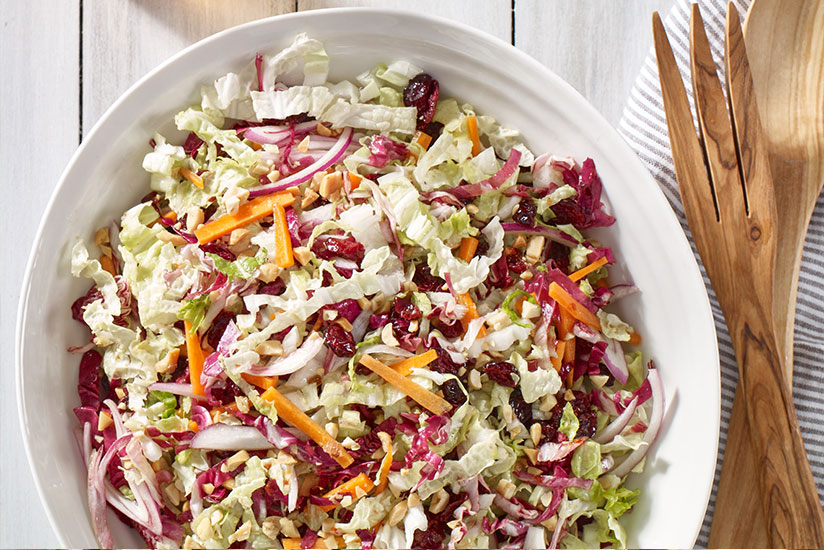 Napa Cabbage Craisins® Dried Cranberries Slaw