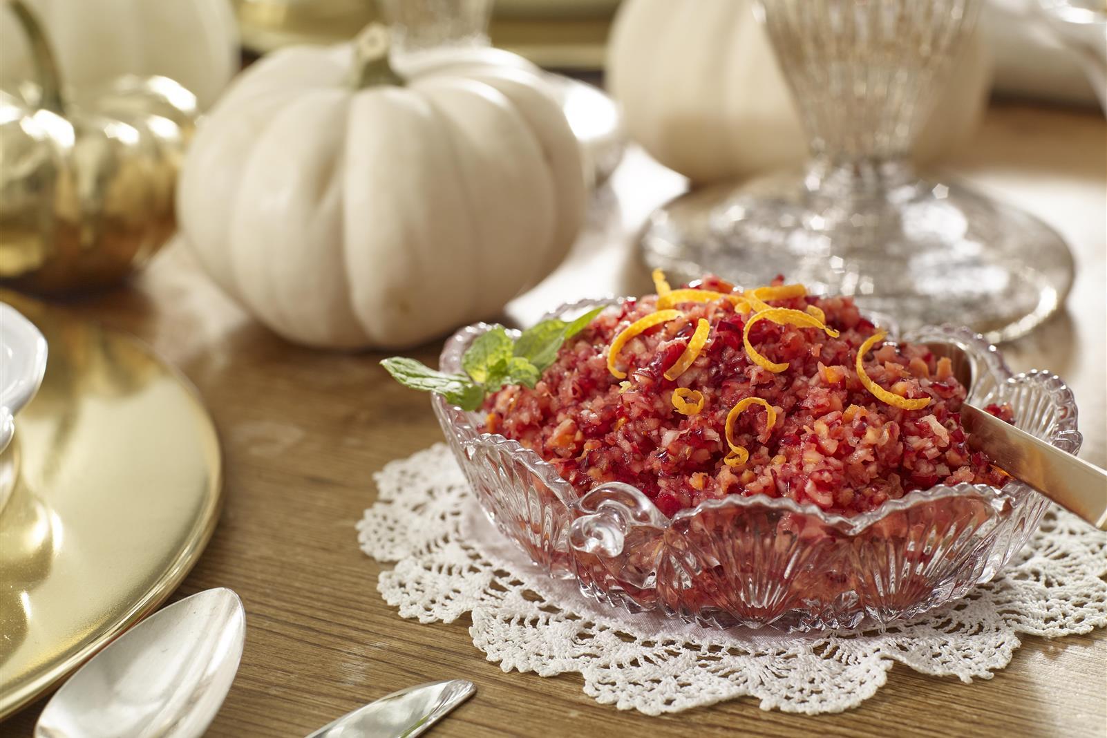 Sue's Cranberry Orange Relish