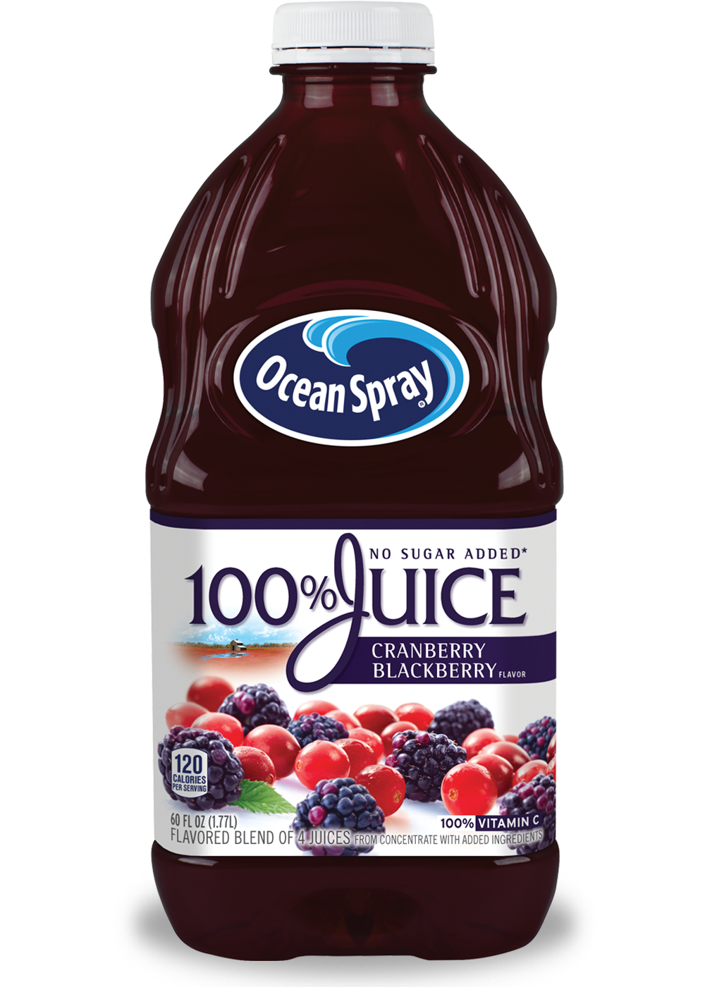 100% Juice Cranberry Blackberry