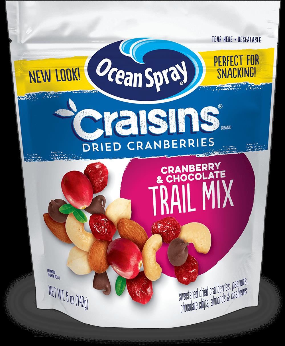 Craisins® Dried Cranberries Trail Mix Cranberries & Chocolate
