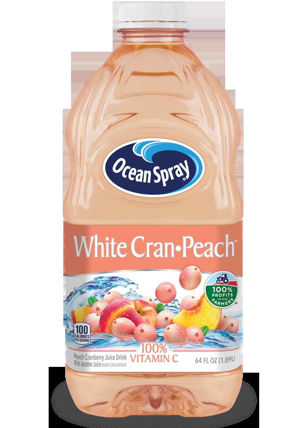 White Cran•Peach® White Cranberry and Peach Juice Drink