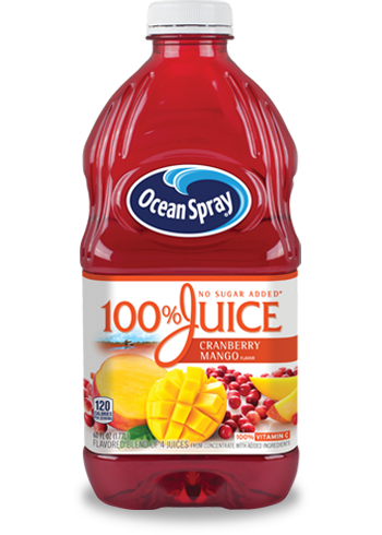 100% Juice Cranberry Mango