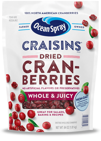 Craisins® Whole & Juicy Dried Cranberries