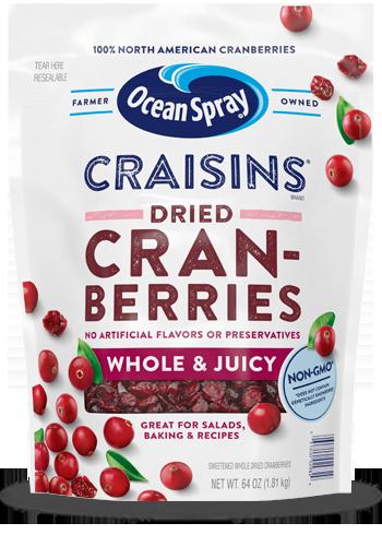 Craisins® Whole & Juicy Dried Cranberries