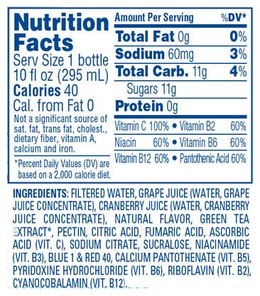 Cran•Energy™ Cranberry Energy Juice Drink