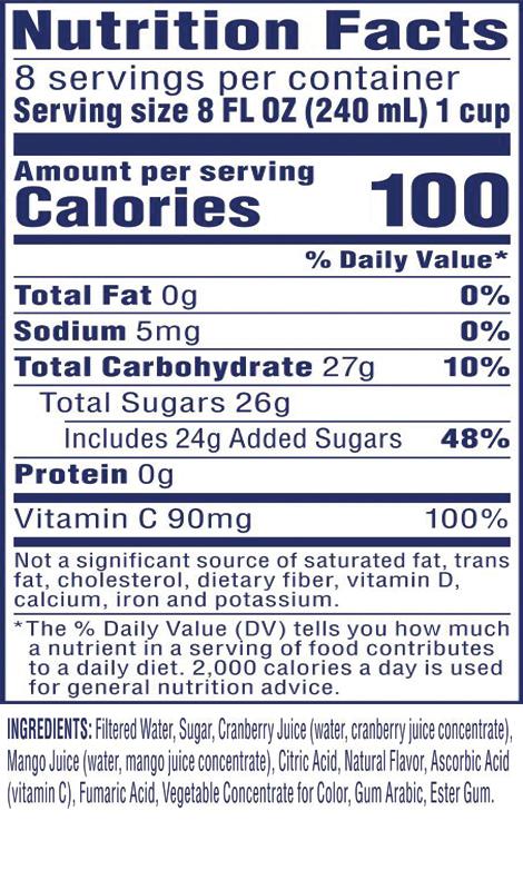 Cran•Mango™ Cranberry Mango Juice Drink