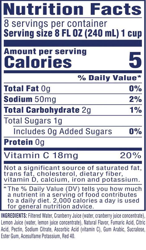 Diet Cran•Lemonade™ Cranberry Lemonade Juice Drink