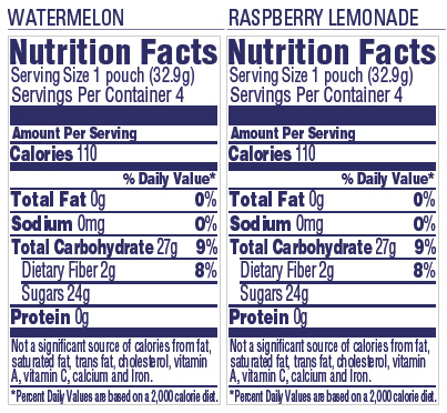 Craisins® Dried Cranberries Fruit Splash Variety Pack
